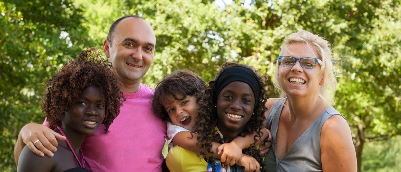 Resource Parents with Foster Children