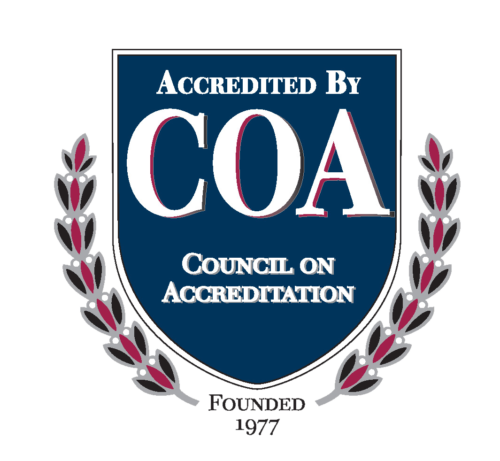 Accredited By Council On Accreditation